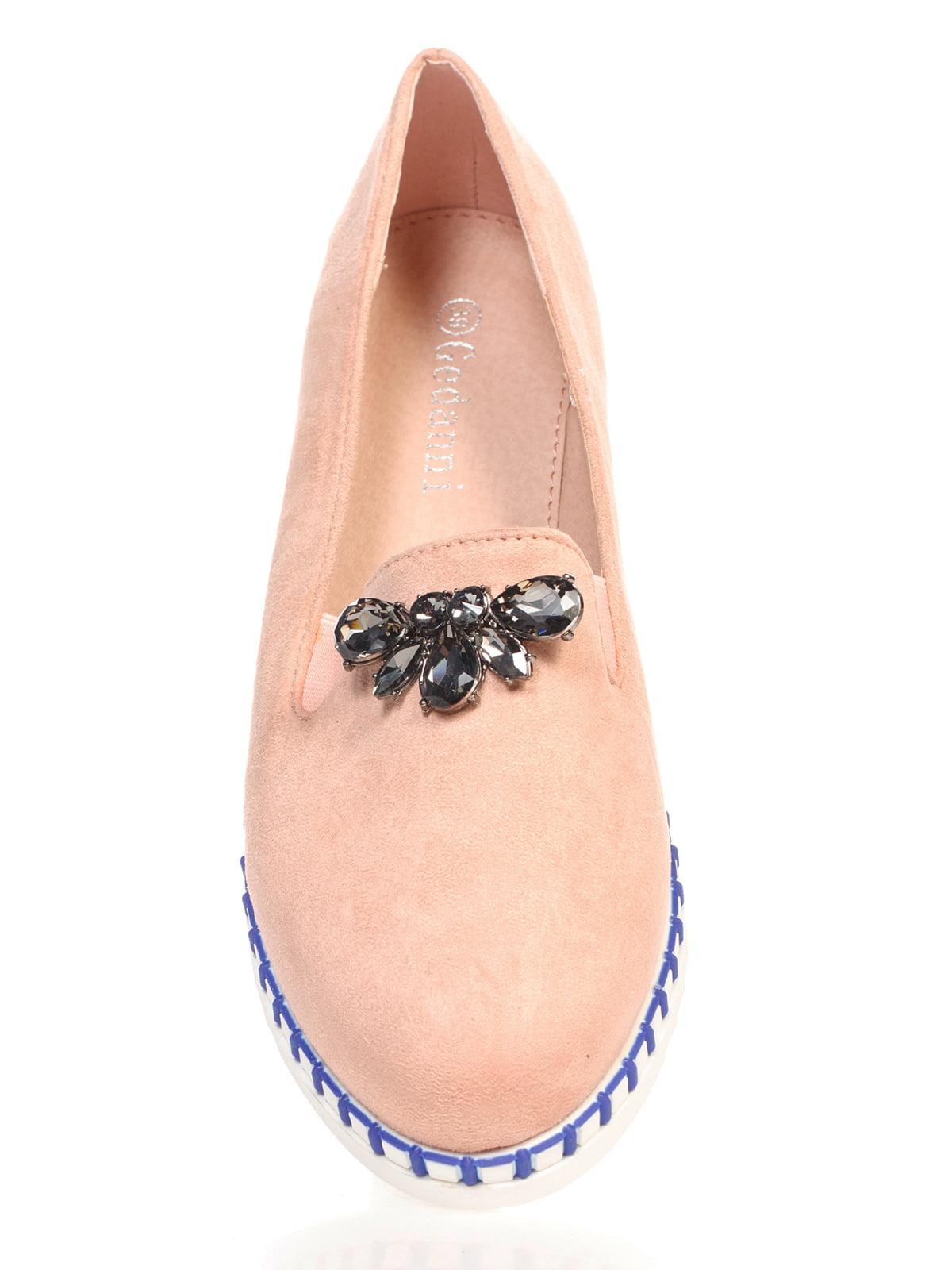 Туфли розовые с декором | 4605862 | фото 4