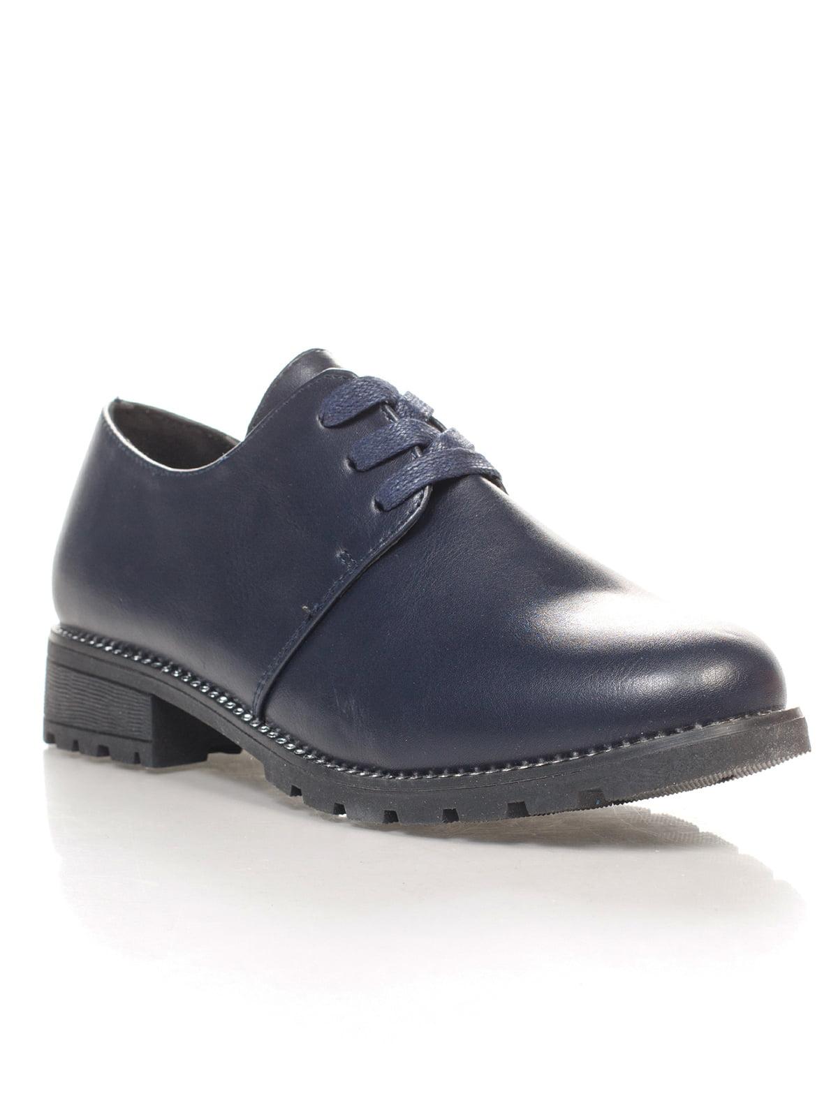 Туфли темно-синие | 4605842