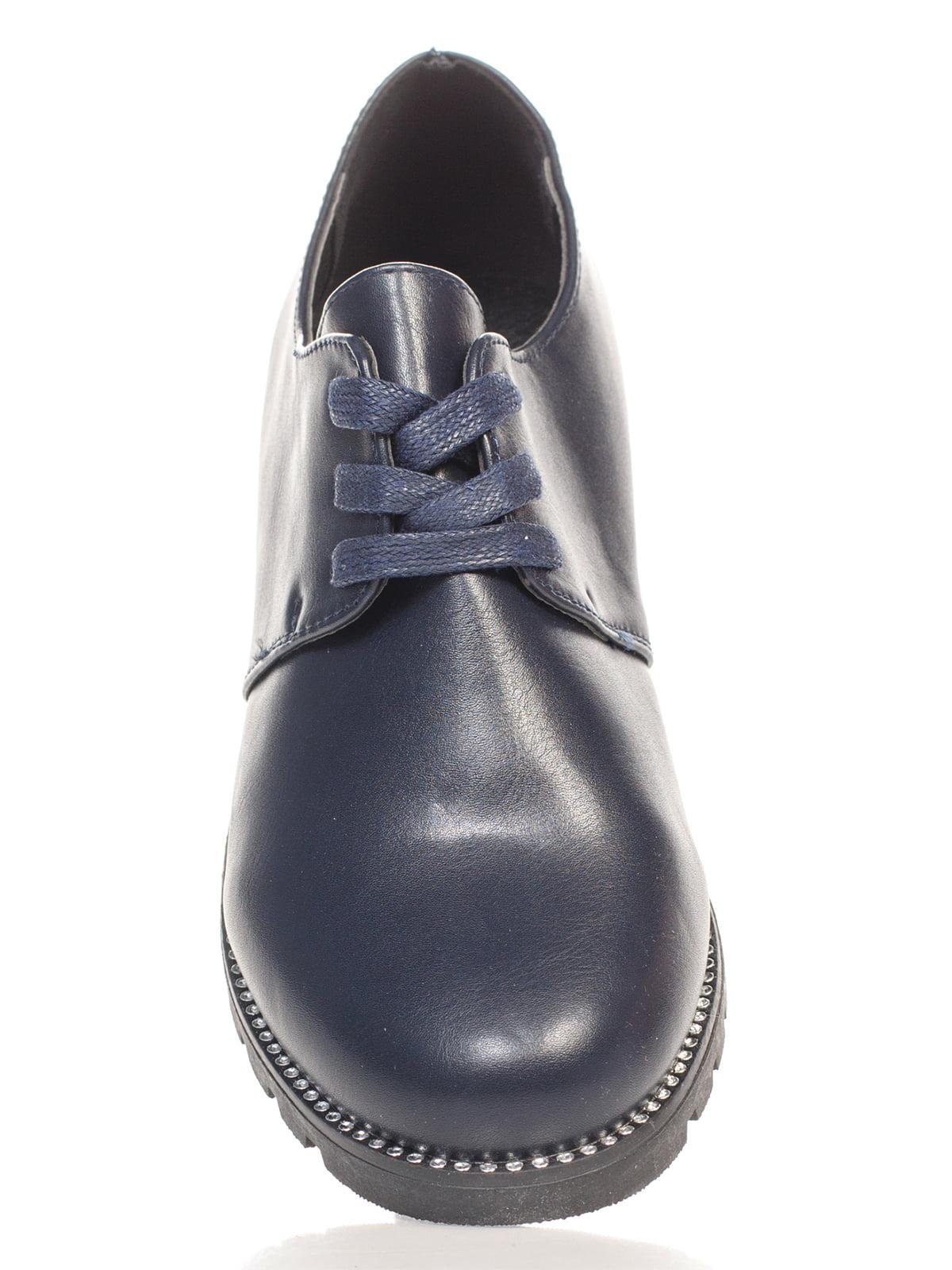 Туфли темно-синие | 4605842 | фото 4