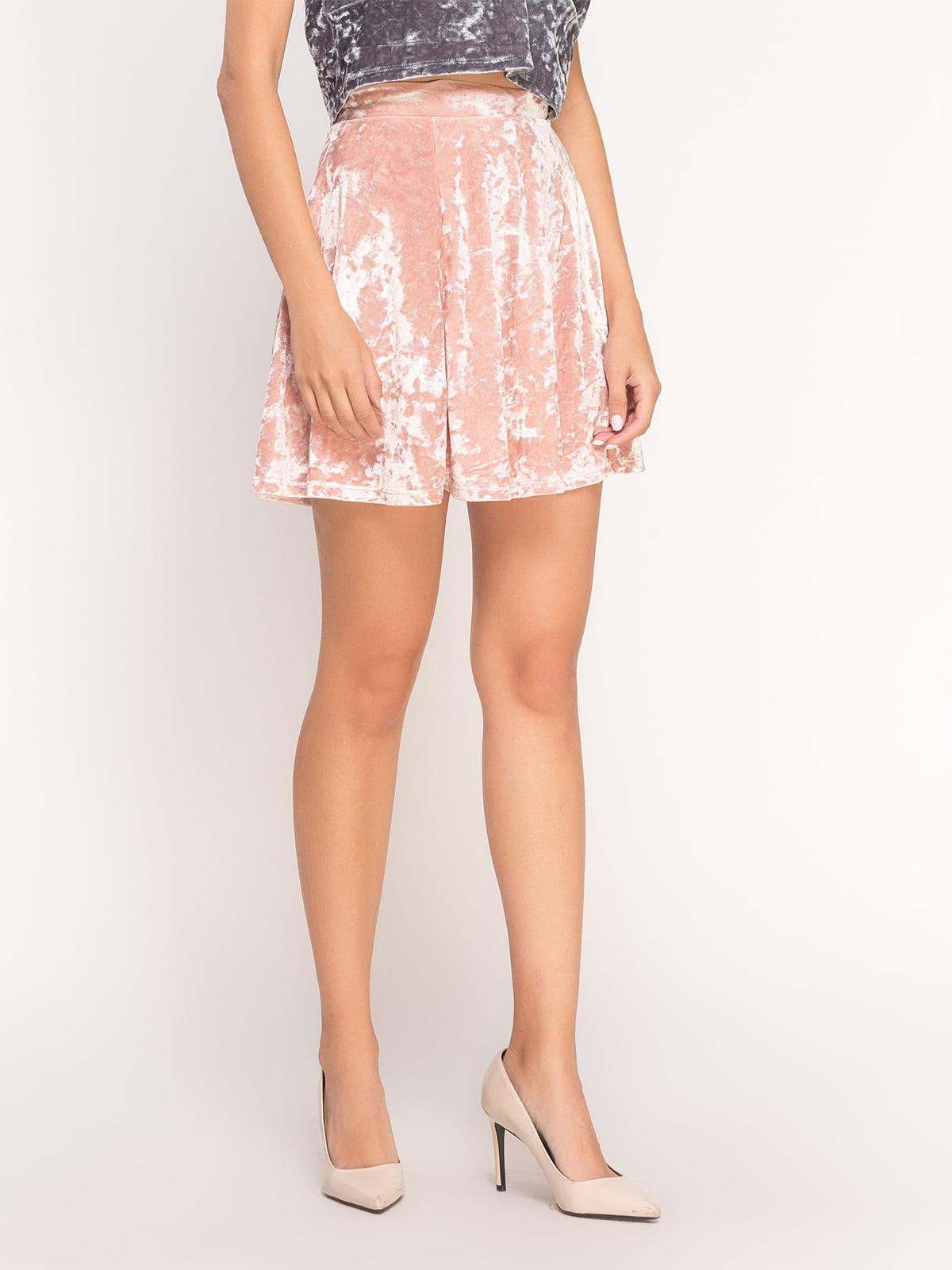 Юбка розовая | 4545557