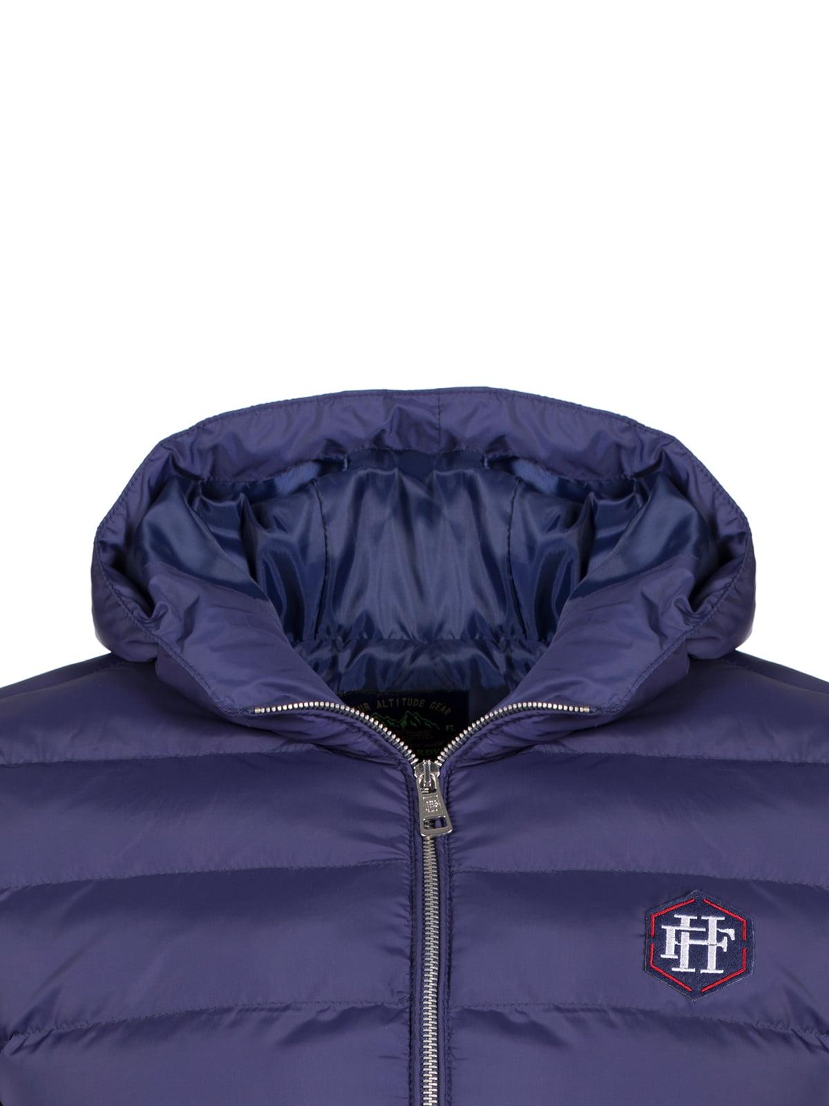 Куртка синяя | 4622040 | фото 2