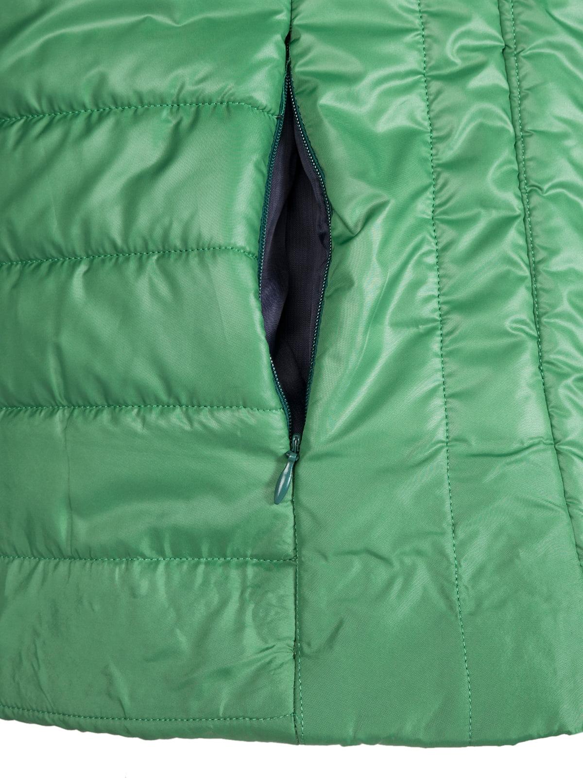 Куртка зелена | 4622081 | фото 4