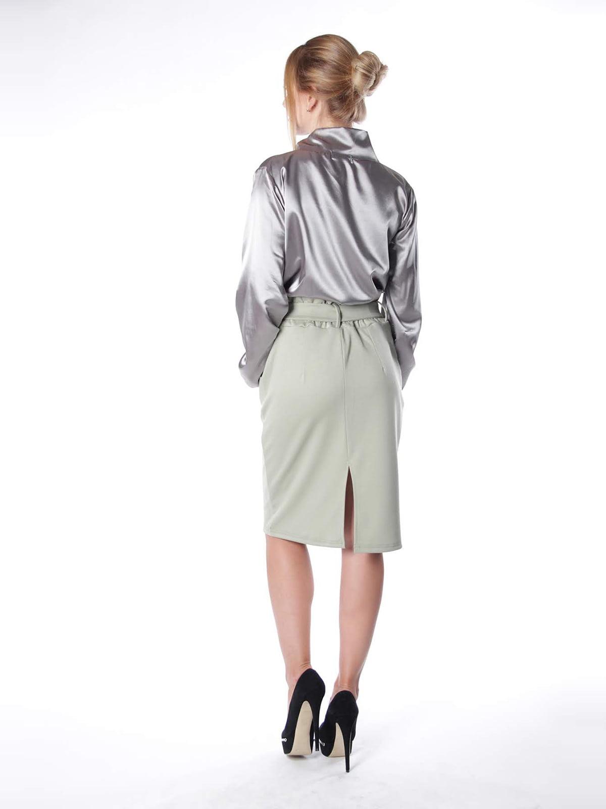 Блуза сіра | 4615490 | фото 2