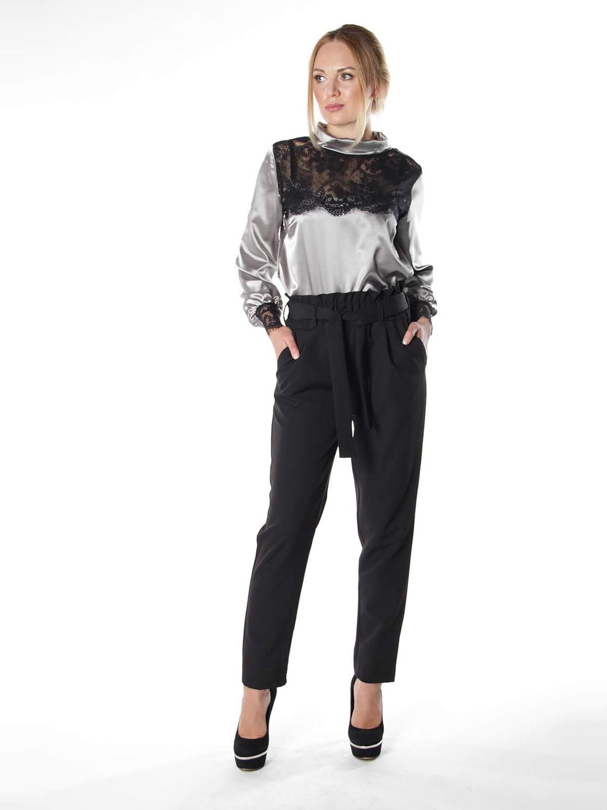 Блуза двоколірна | 4615508