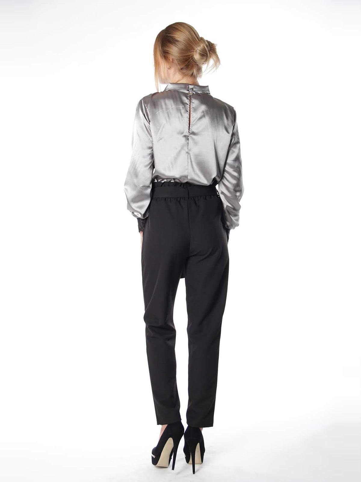 Блуза двоколірна | 4615508 | фото 2
