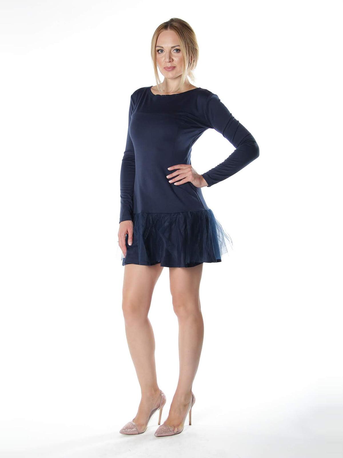 Платье синее   4615512