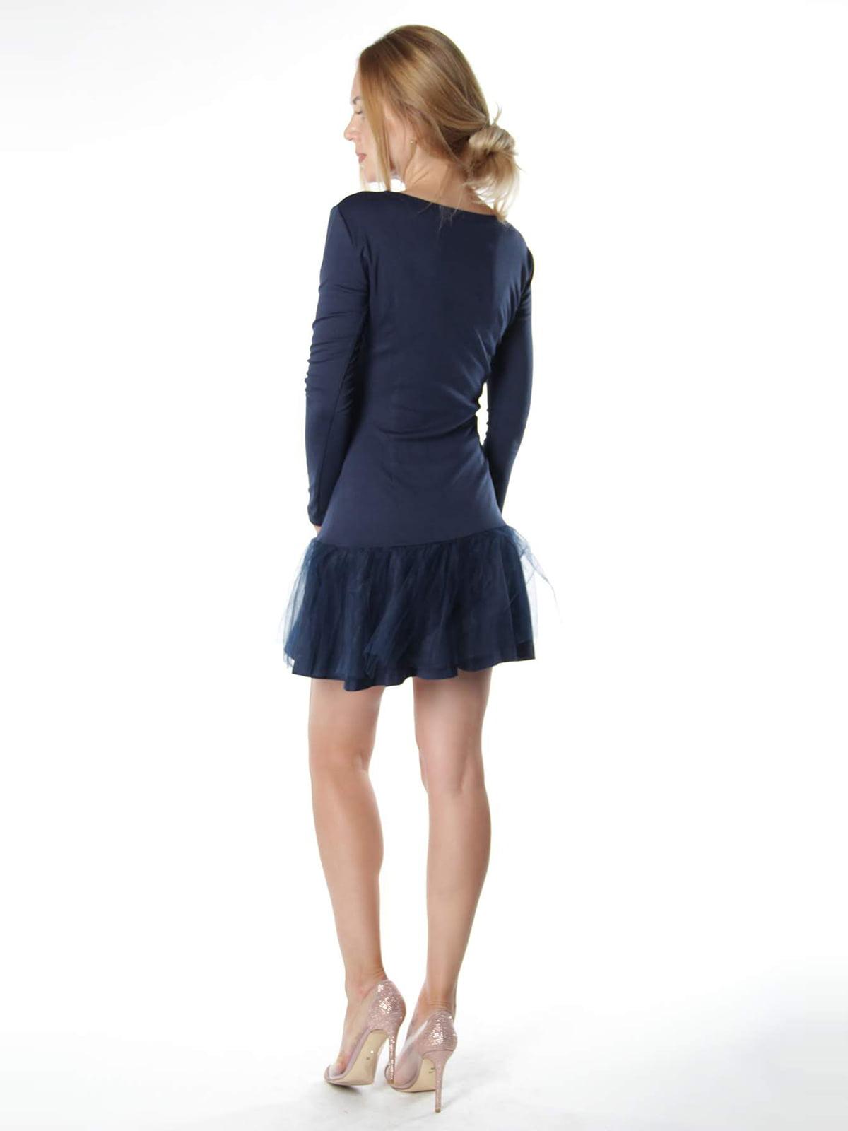 Платье синее   4615512   фото 2