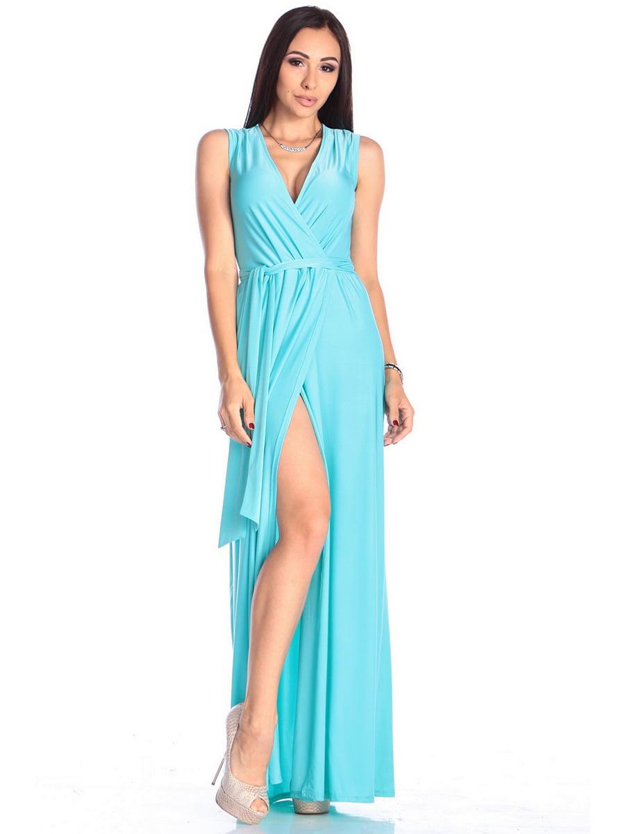 Платье бирюзовое | 4614803