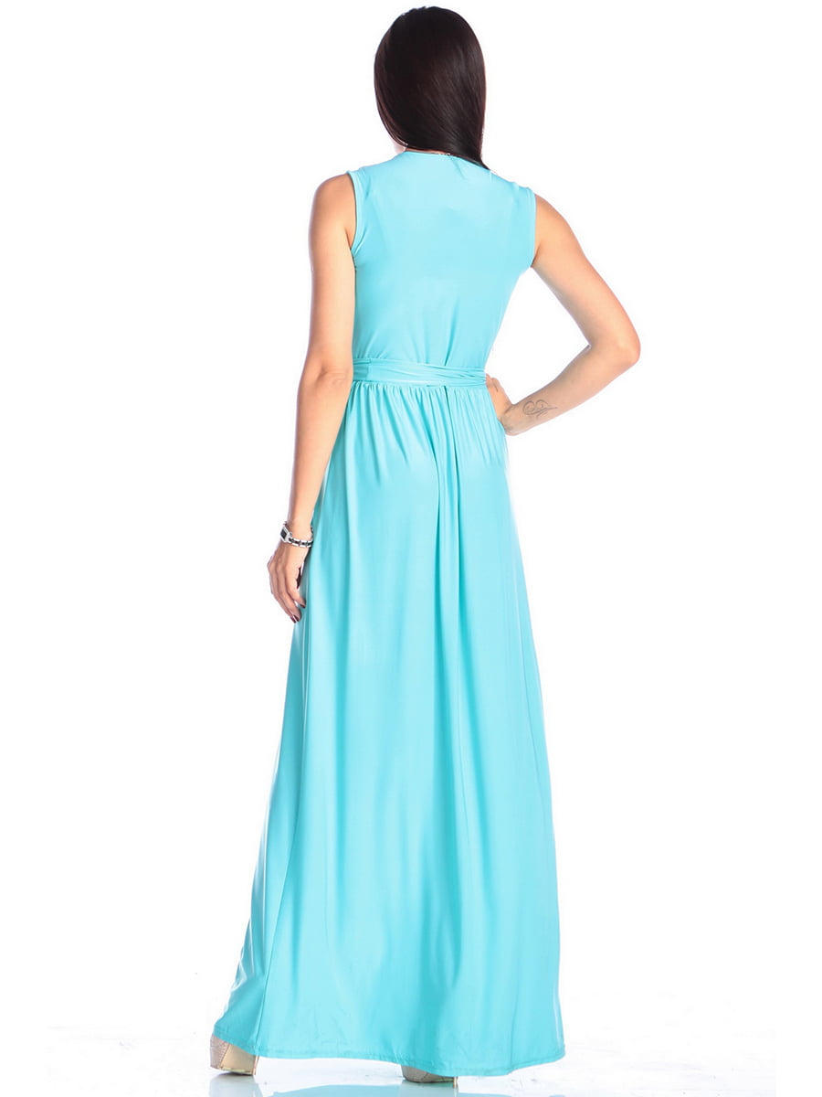 Платье бирюзовое | 4614803 | фото 2