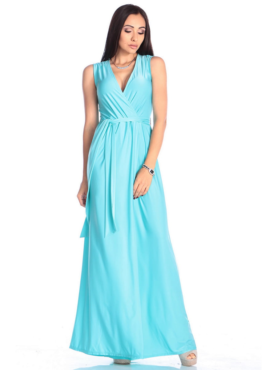 Платье бирюзовое | 4614803 | фото 4