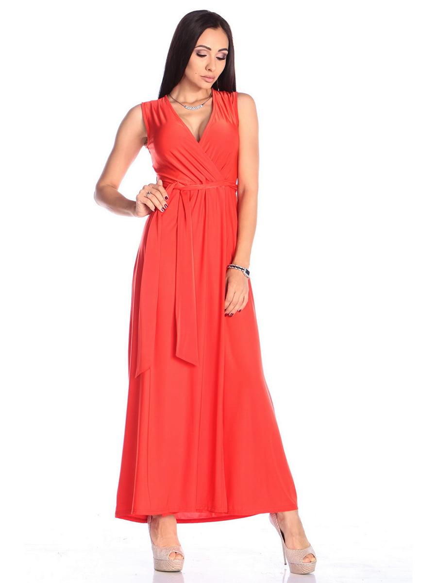 Платье красное | 4614805 | фото 3
