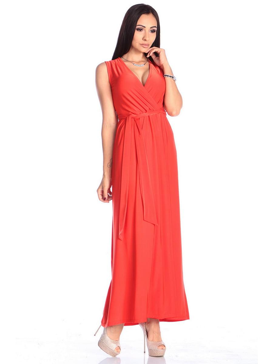 Платье красное | 4614805 | фото 4