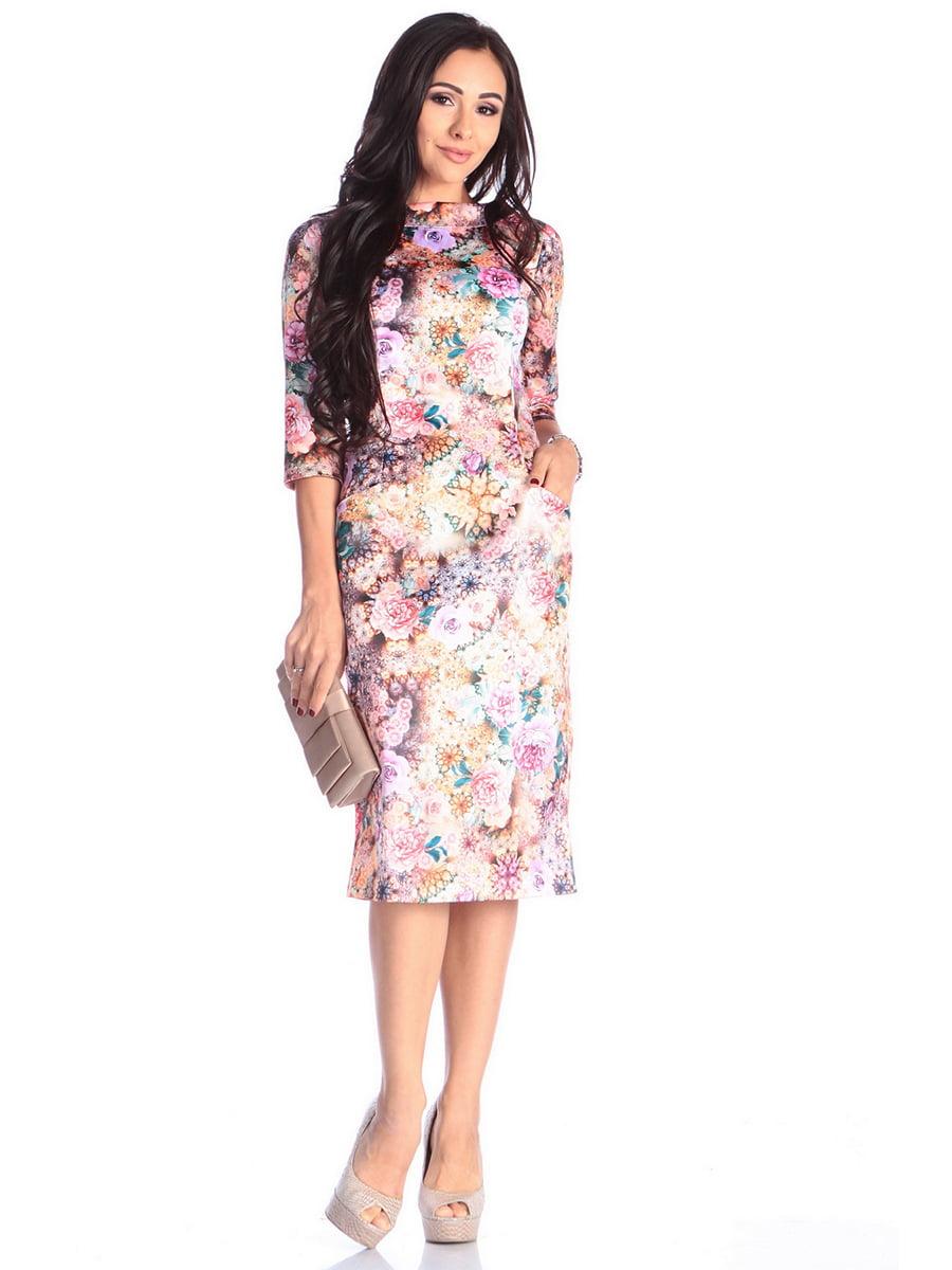 Сукня в принт   4619001