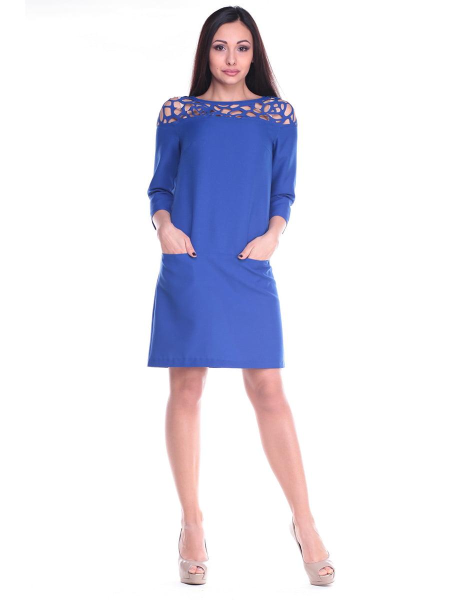 Платье цвета электрик   4619753   фото 4