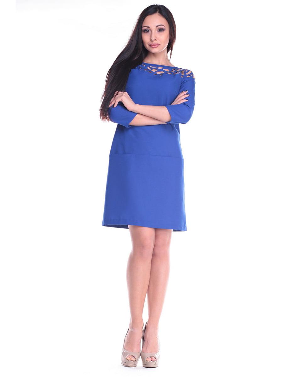 Платье цвета электрик   4619753   фото 5
