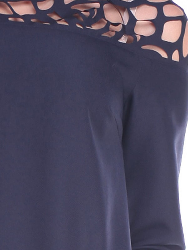 Платье темно-синее | 4619757 | фото 3