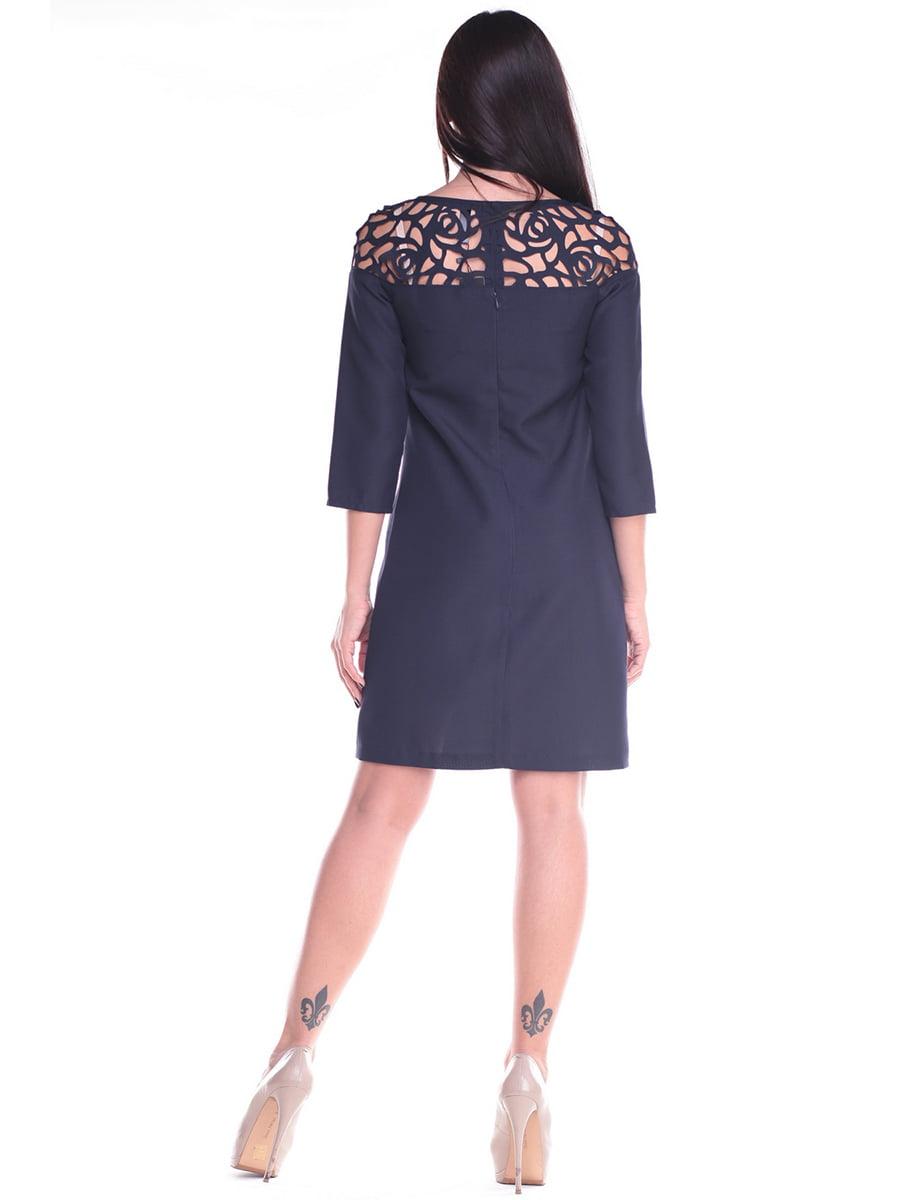 Платье темно-синее | 4619757 | фото 2