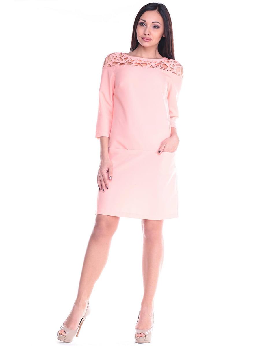 Сукня персикова | 4619758