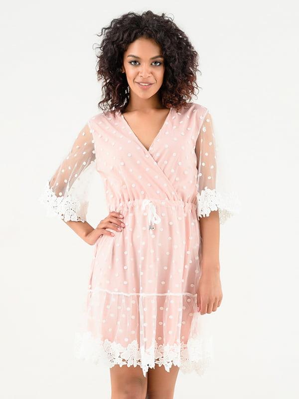 Платье пудрового цвета | 4271874