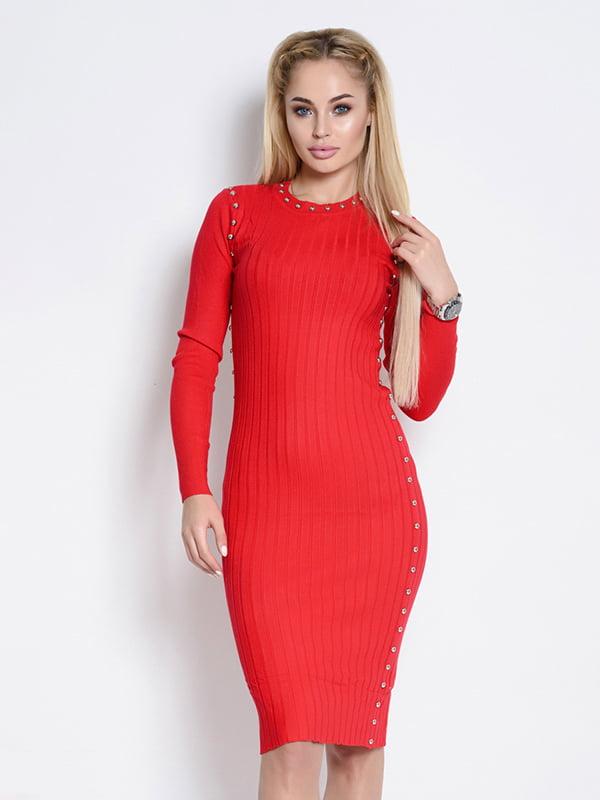 Платье красное | 4621298