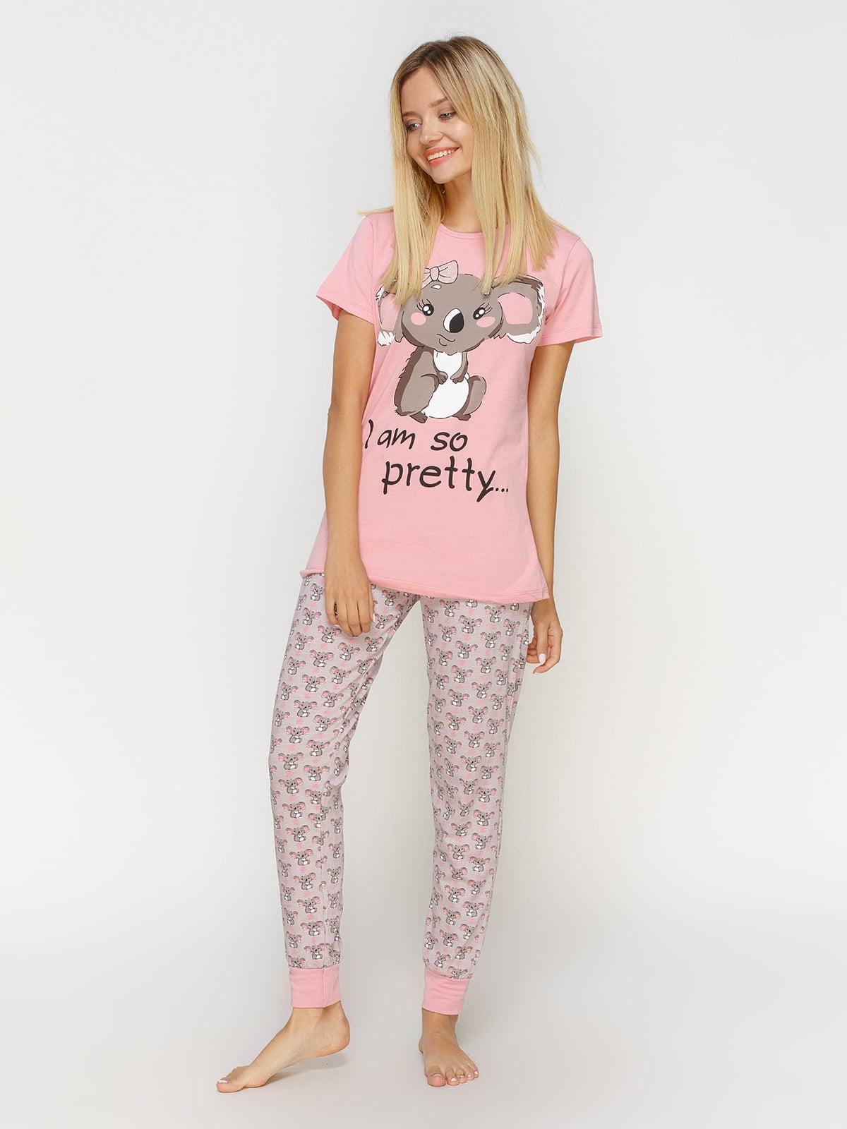 Пижама: футболка и брюки | 4611308