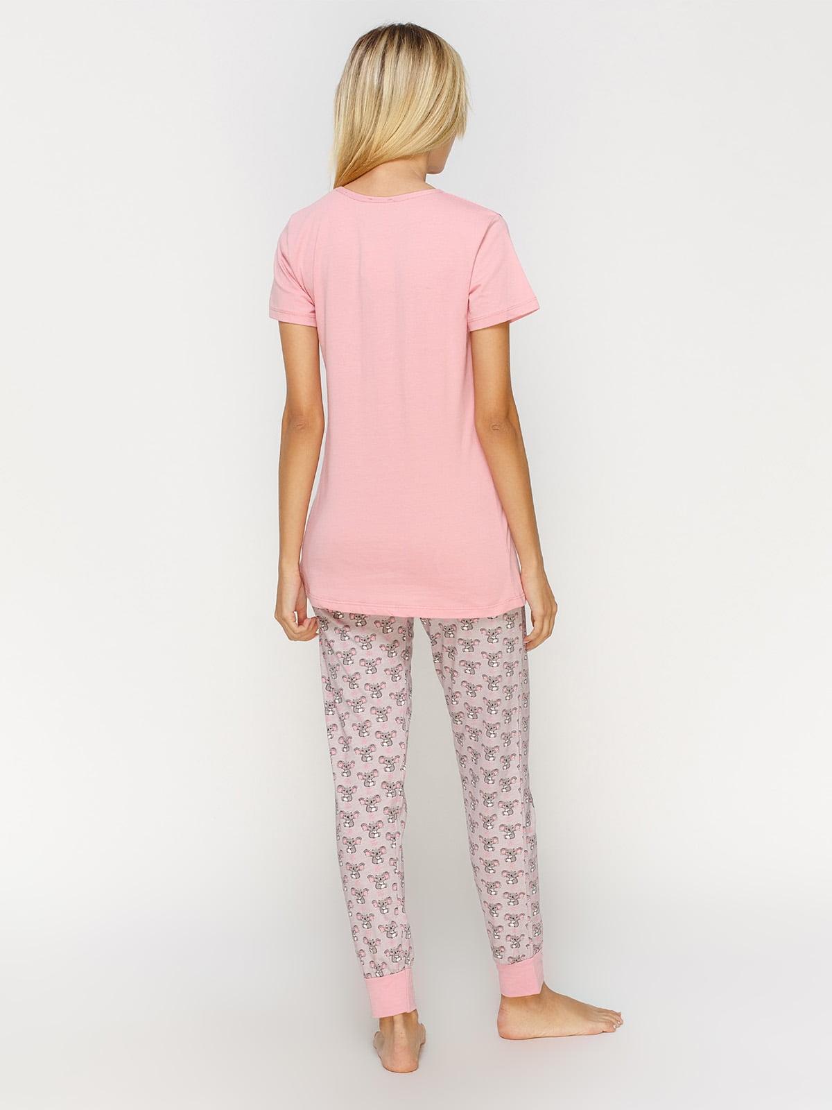 Пижама: футболка и брюки | 4611308 | фото 2