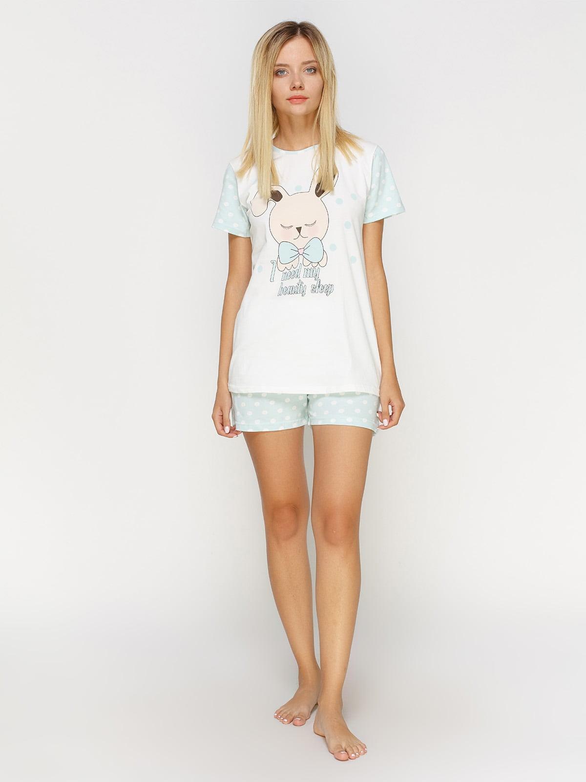 Комплект: футболка и шорты | 4611014