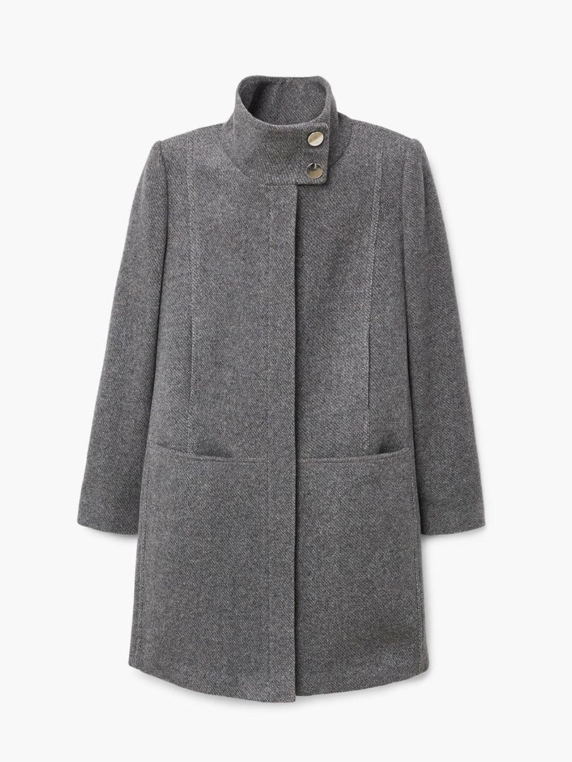 Пальто серое | 4440584 | фото 8
