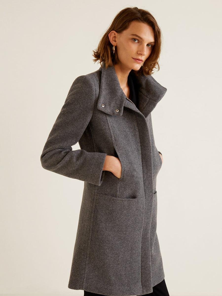 Пальто серое | 4440584 | фото 12