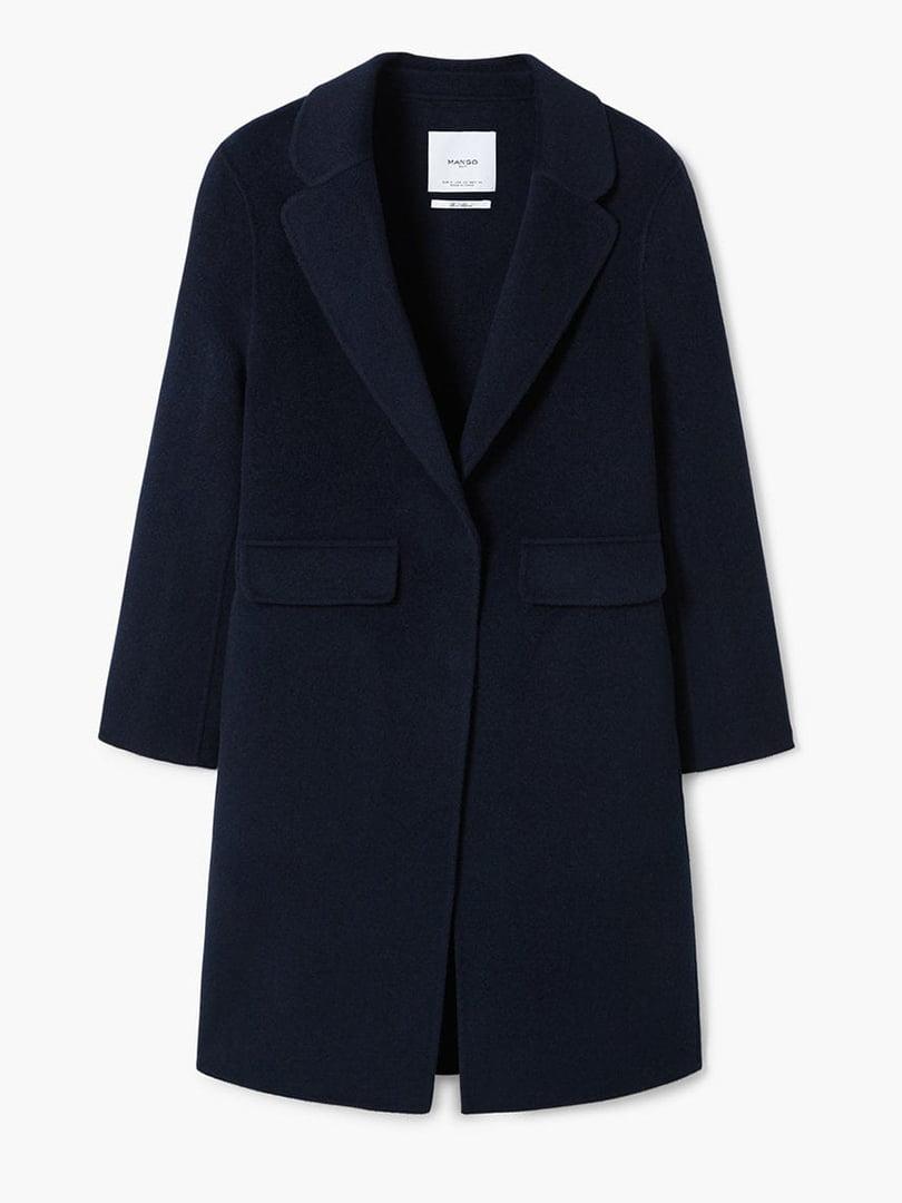 Пальто синее | 4489369 | фото 6