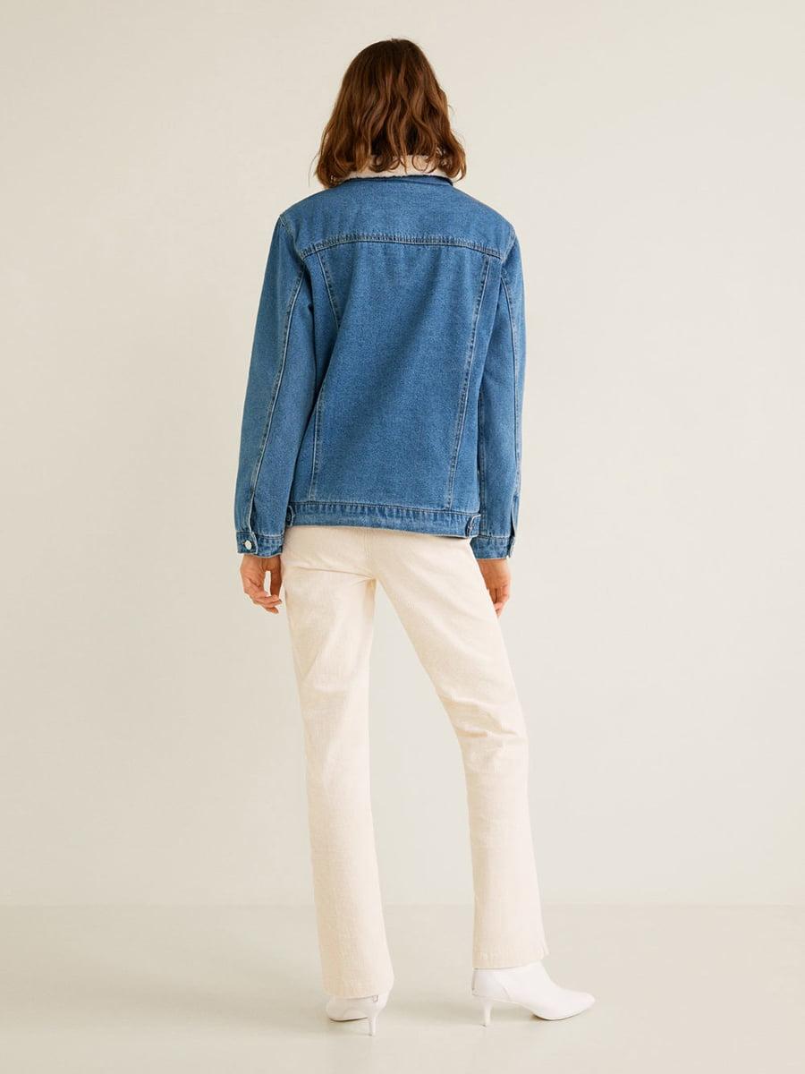Куртка синя | 4549124 | фото 9
