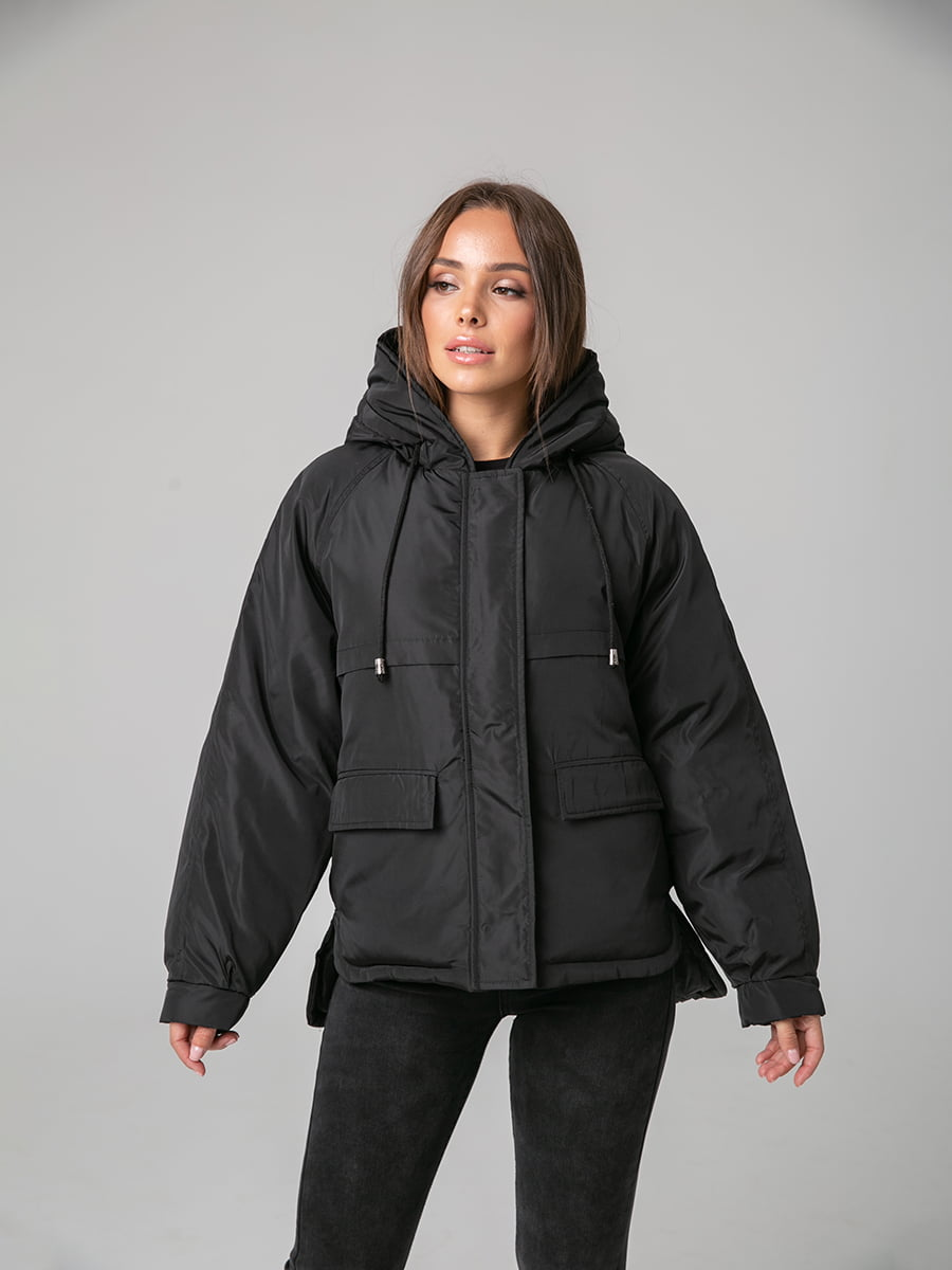 Куртка чорна | 4588280