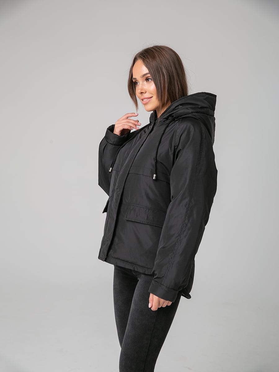 Куртка чорна | 4588280 | фото 2