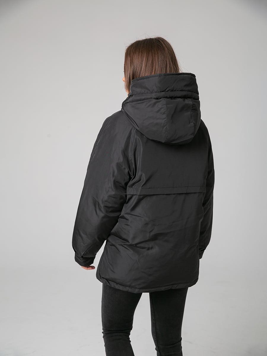 Куртка чорна | 4588280 | фото 3