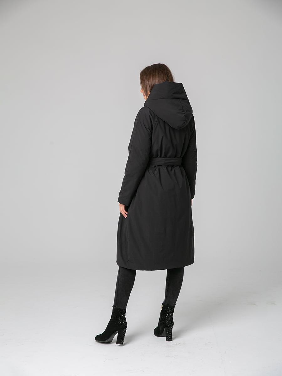 Пальто черное | 4631126 | фото 3