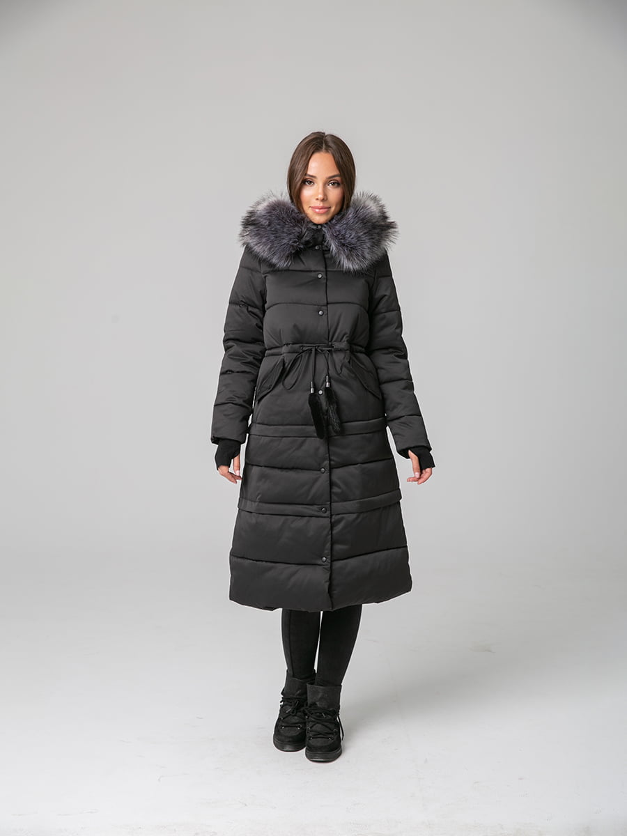 Пальто чорне | 4631128