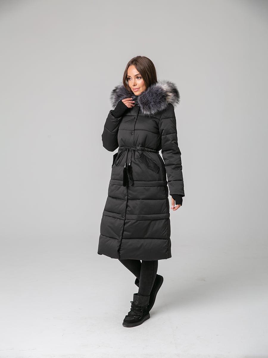 Пальто черное | 4631128 | фото 2