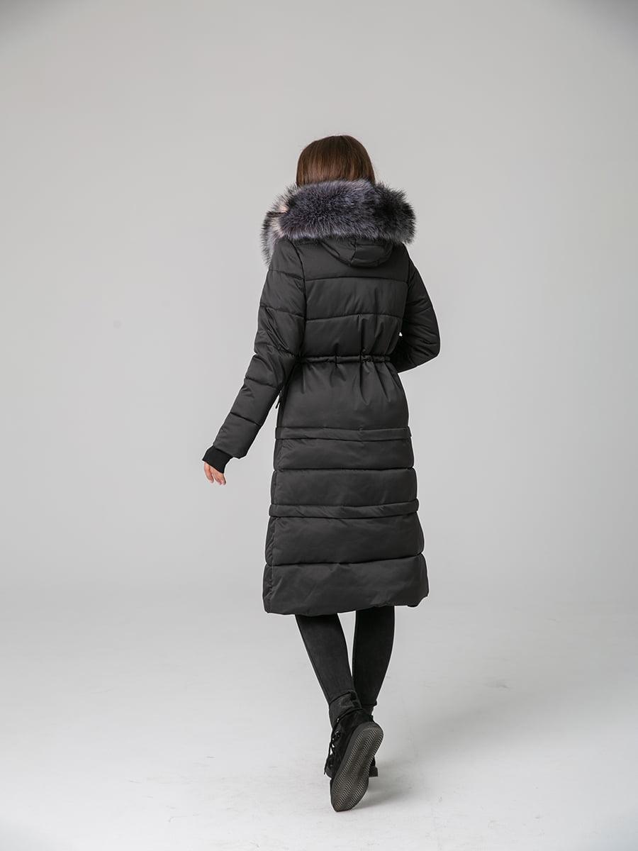 Пальто черное | 4631128 | фото 3