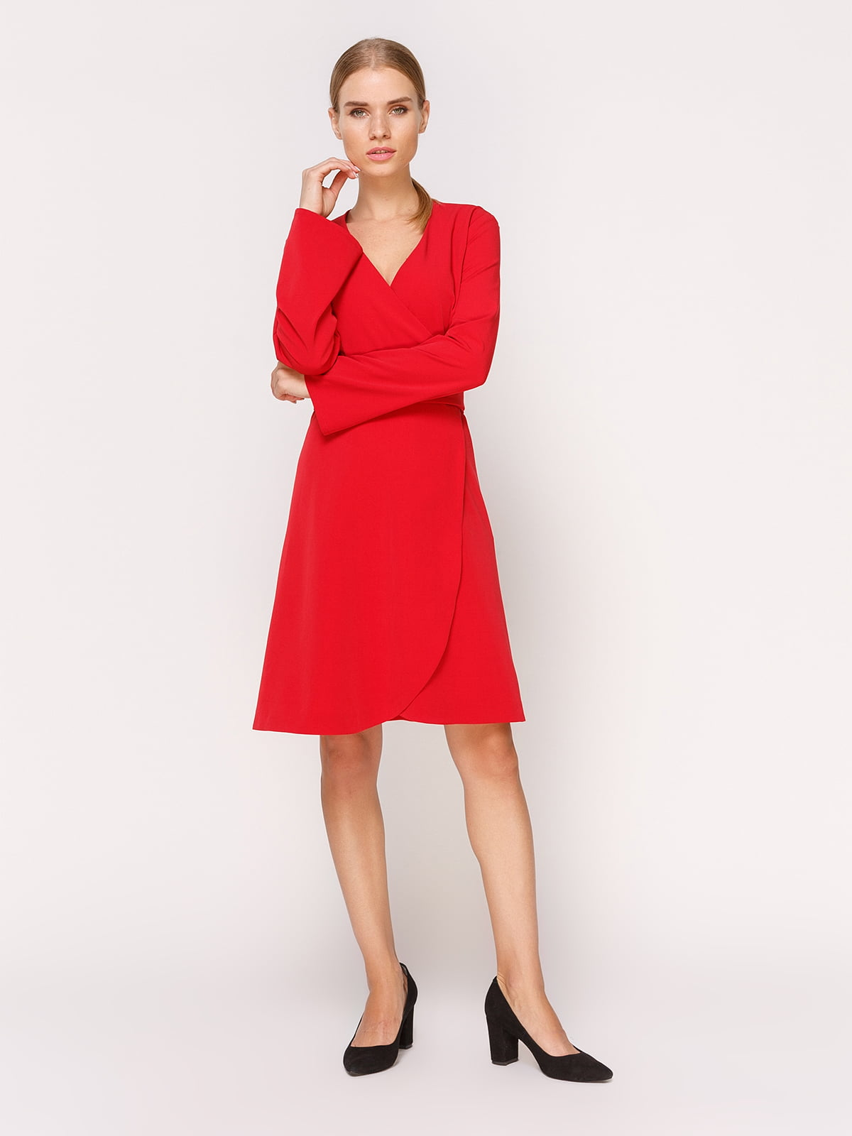 Платье красное   4631551