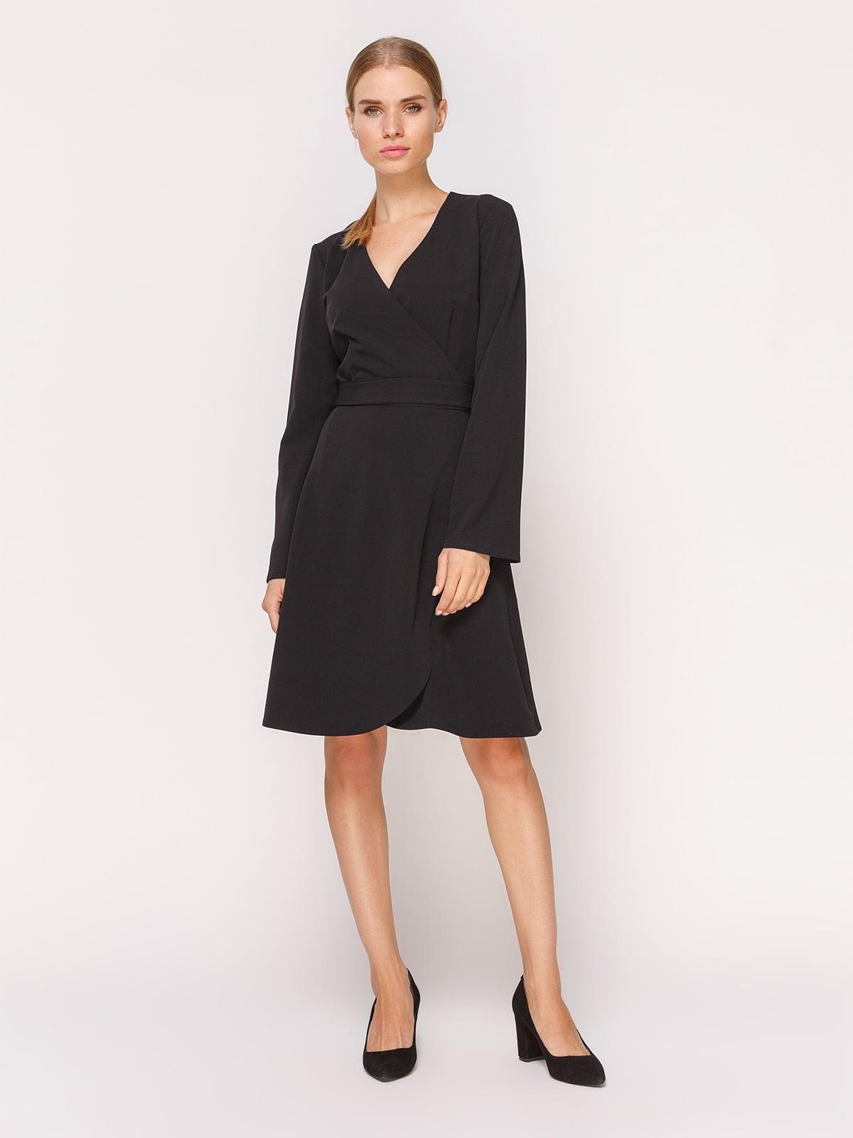 Платье черное | 4631553
