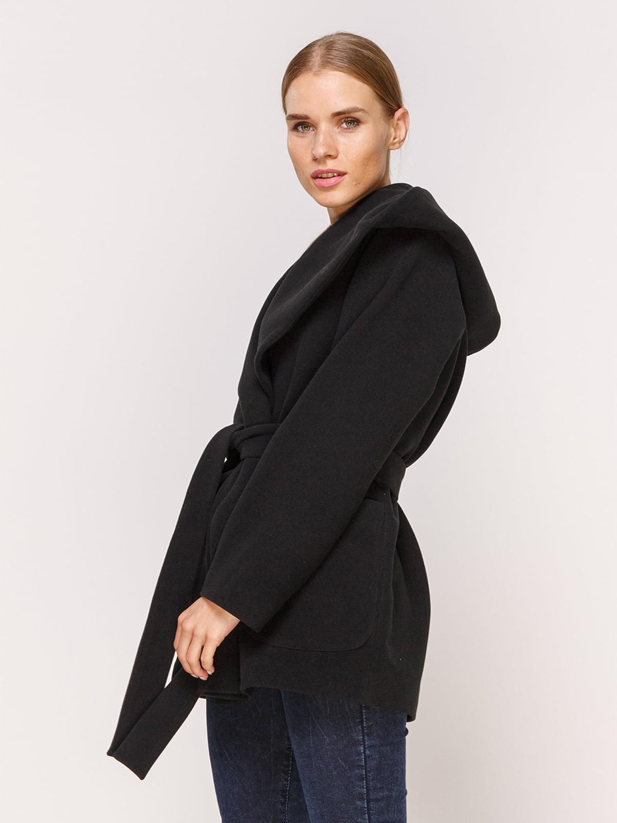 Пальто черное | 4631557 | фото 3