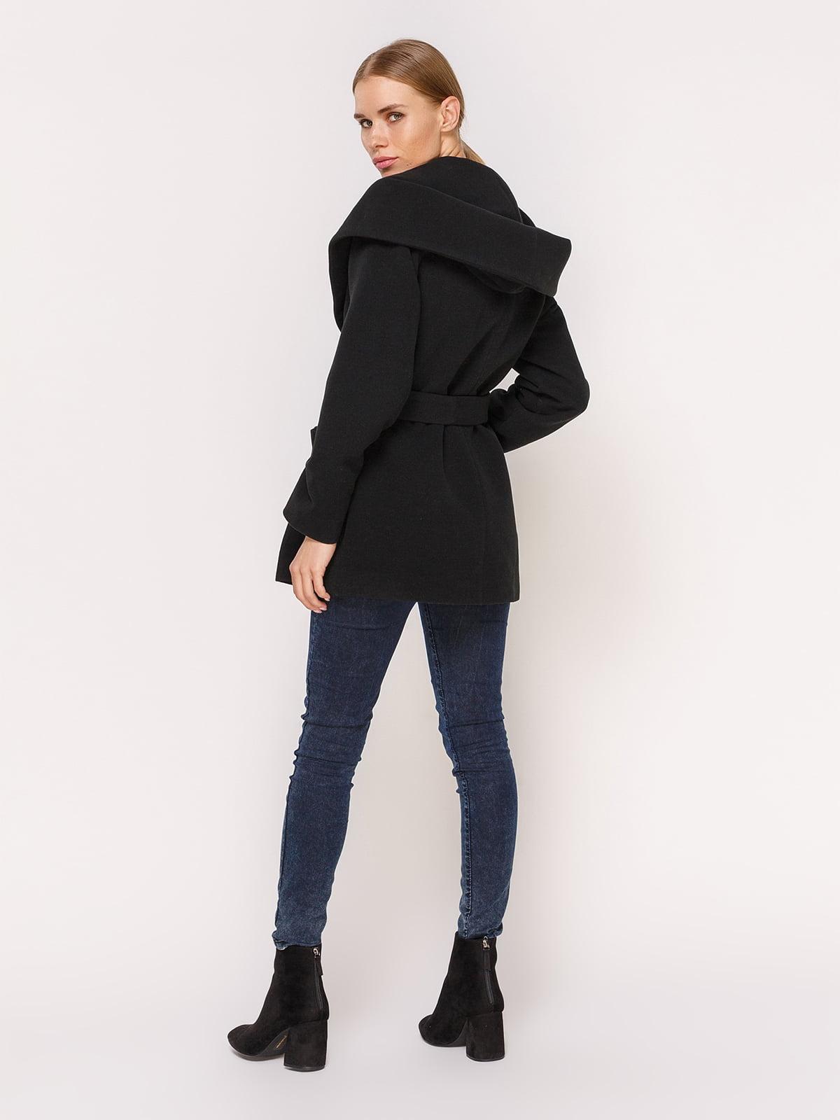 Пальто черное | 4631557 | фото 4