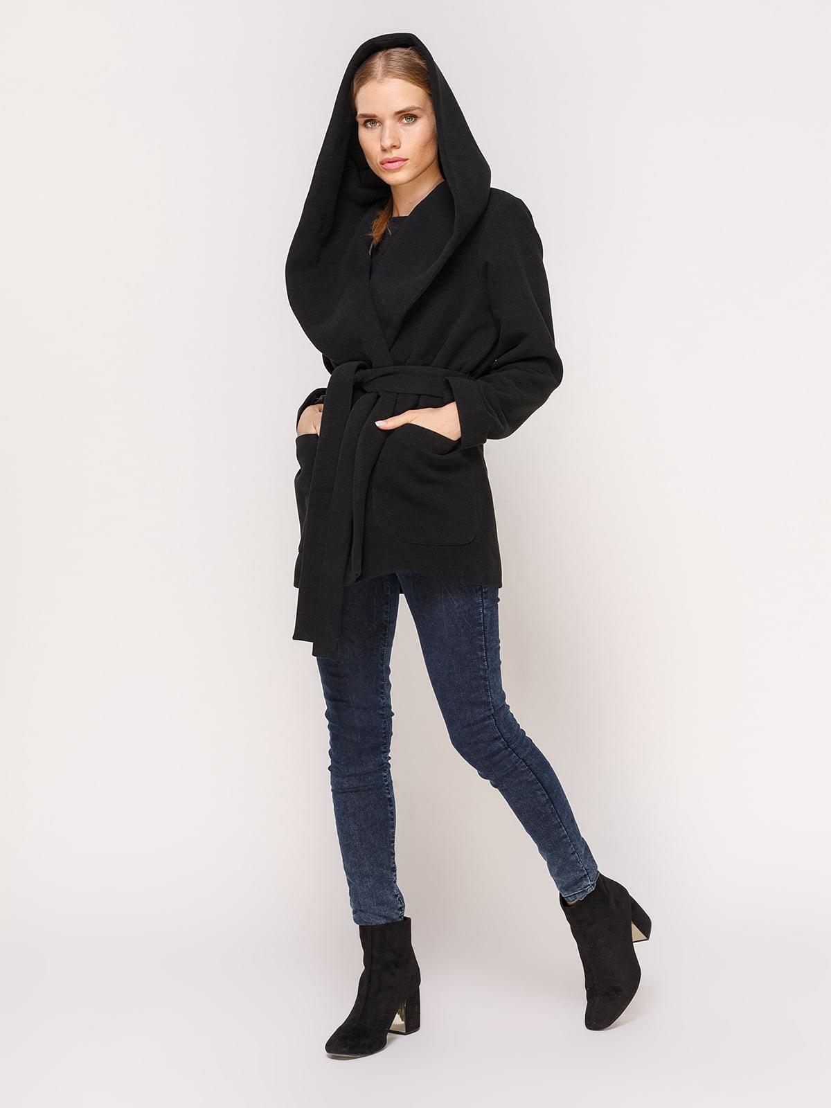 Пальто черное | 4631557 | фото 5