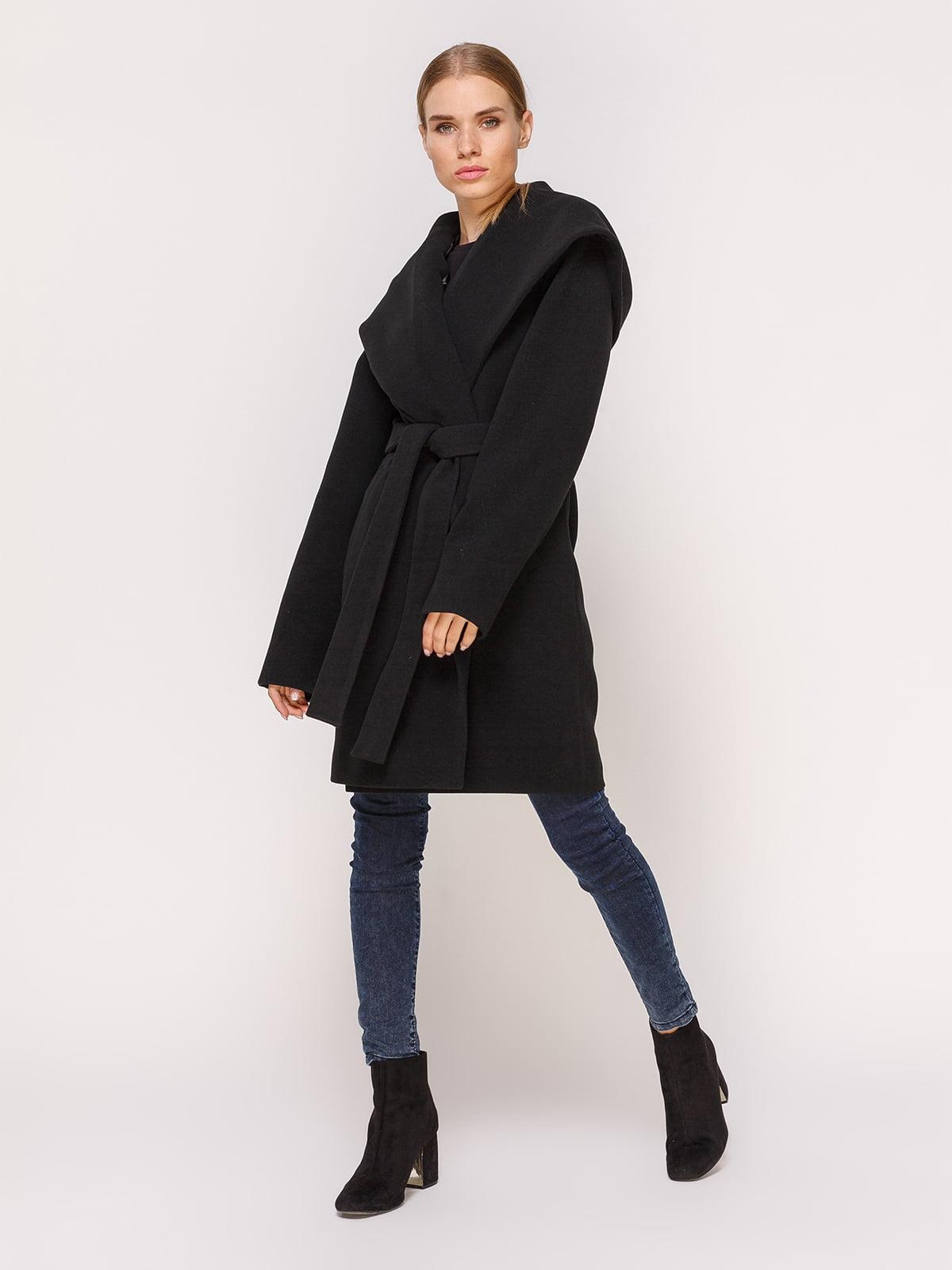 Пальто черное   4631561