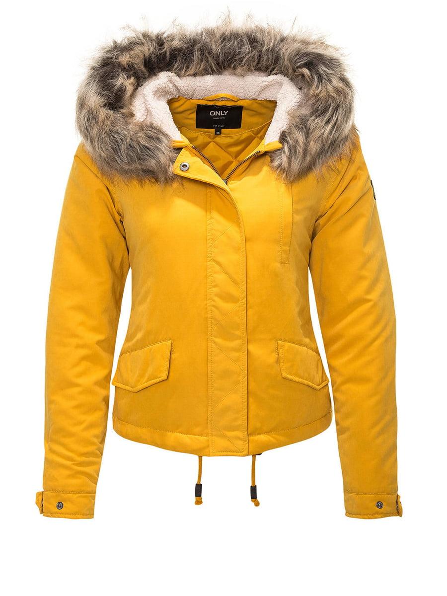 Куртка жовта | 4630981