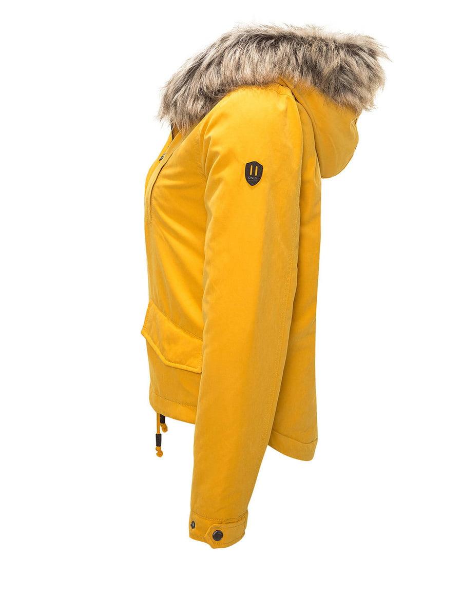 Куртка жовта | 4630981 | фото 2