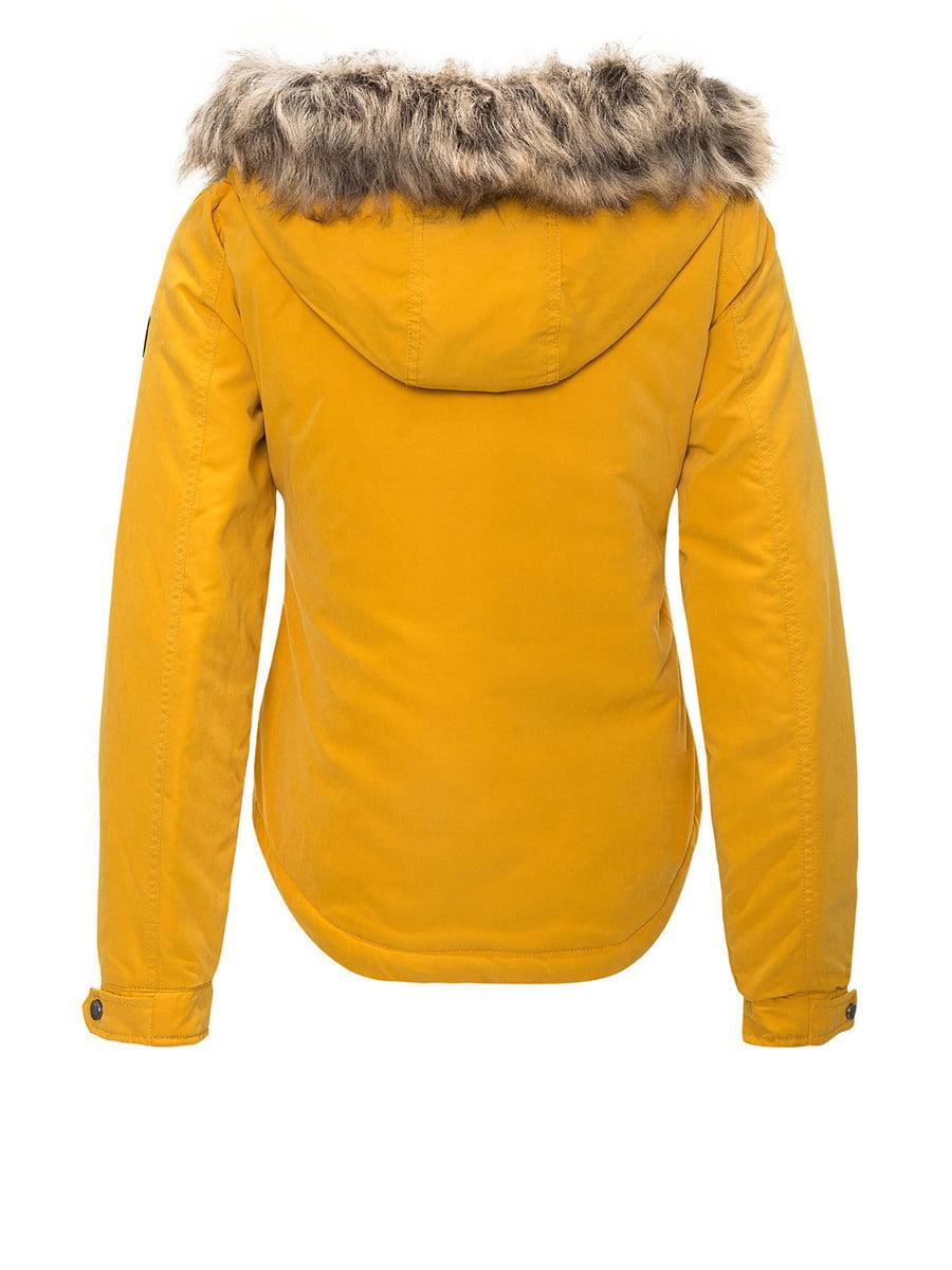 Куртка жовта | 4630981 | фото 3
