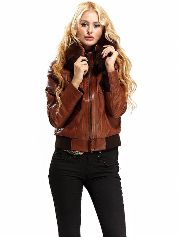 Куртка коричневая   4604542