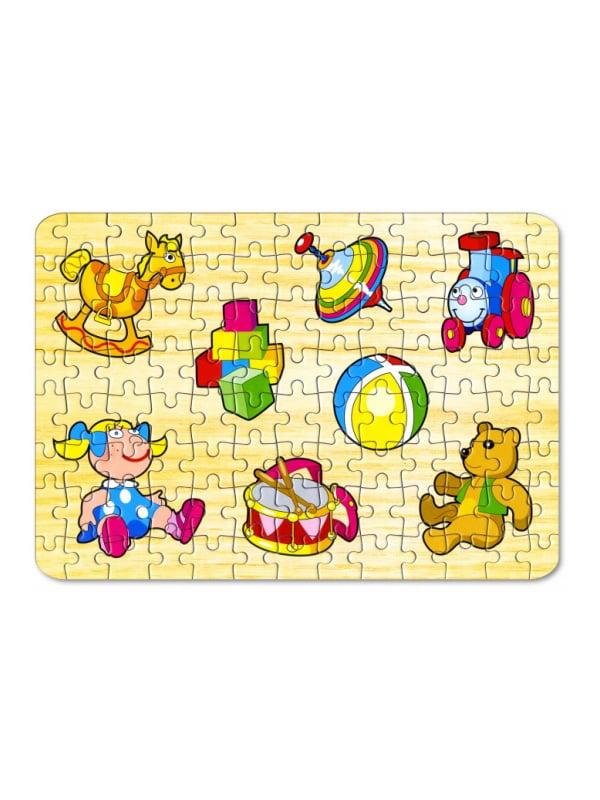 Пазли для малюків «Іграшки №2» (104 елементи)   4635165