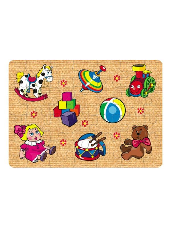 Пазли для малюків «Іграшки №2» (28 елементів) | 4635166